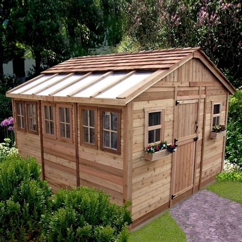 awesome backyard sheds awesome small garden shed 12 outdoor living sheds