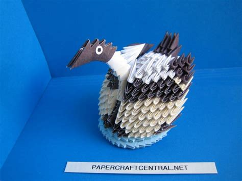 3d Origami Duck - 280 best images about origami 3d on peacocks