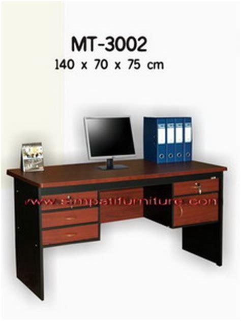 Meja Expo Mt 3002 uno office furniture penyekat partisi kantor murah harga