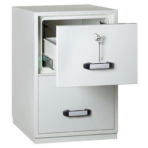 resistant filing cabinet 2 drawer insafe