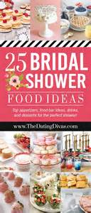 bridal shower food easy best 20 bridal shower menu ideas on bridal