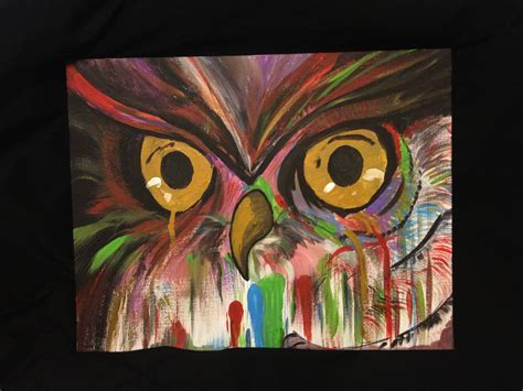 acrylic painting ideas owls discover and save creative ideas
