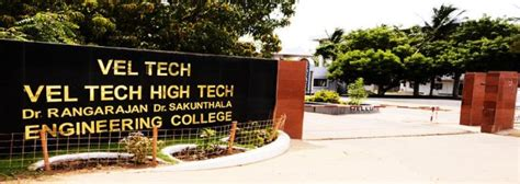 Vel Tech Mba by Top 10 Business Colleges In Chennai To Study Mba
