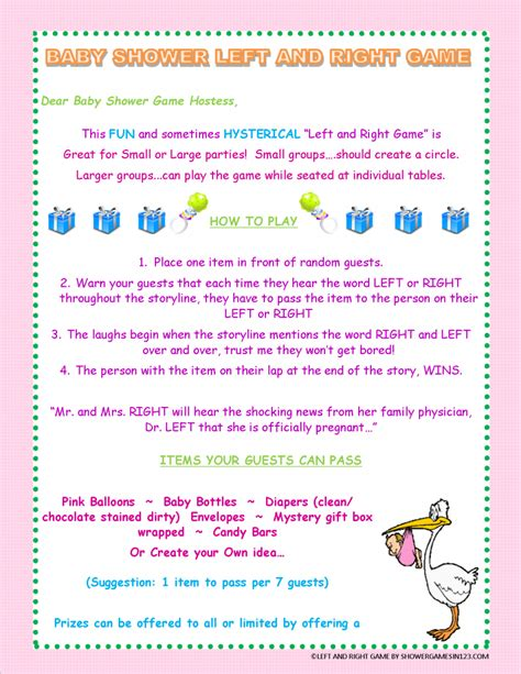 Right Left Baby Shower by Baby Shower Left Right Baby Shower Pictures