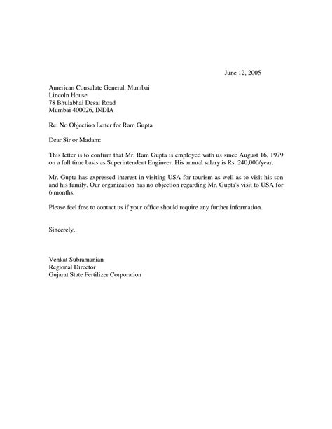Letter Of Objection Template sle of objection letter it resume cover letter sle