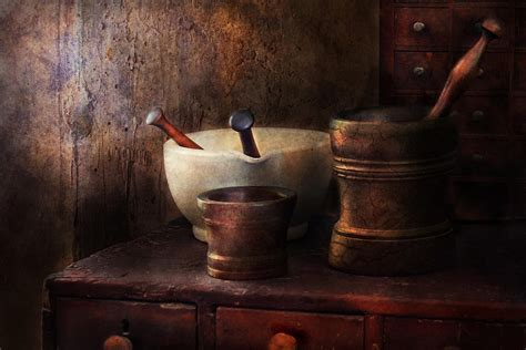 apothecary pick a pestle photograph by mike savad