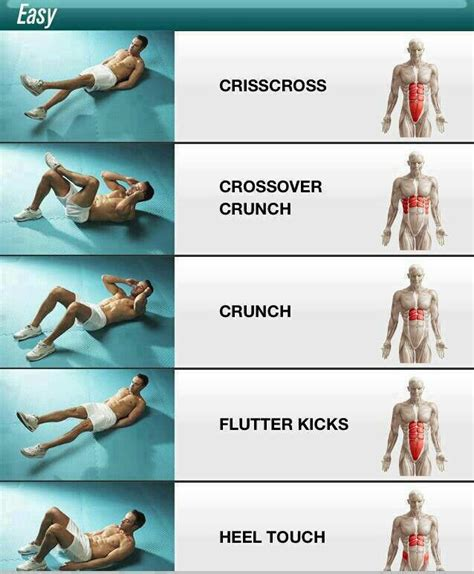 easy level abdominal exercises