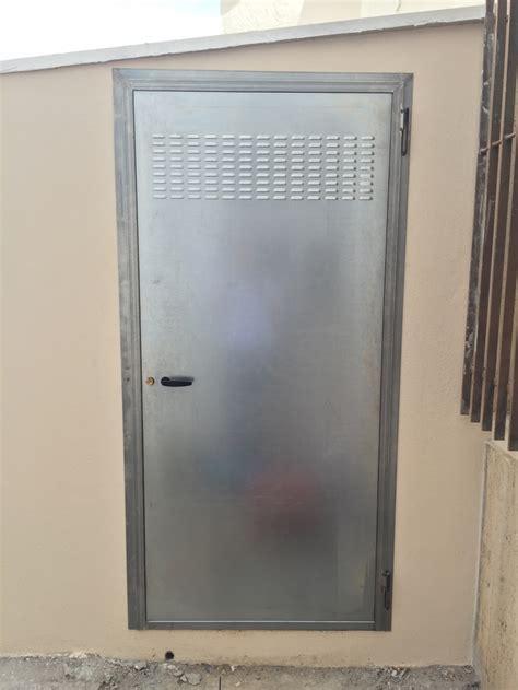 porta zincata manufatti in lamiera