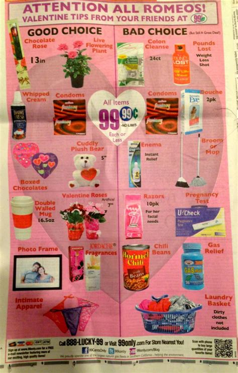 99 cent store valentines day post choices at 99 cent store photo