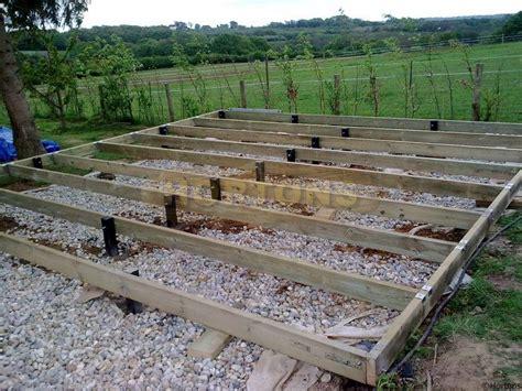 raised timber base kit hortons portable buildings