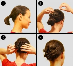 tutorial gelung rambut simple tutorial model sanggul modern super mudah cantik
