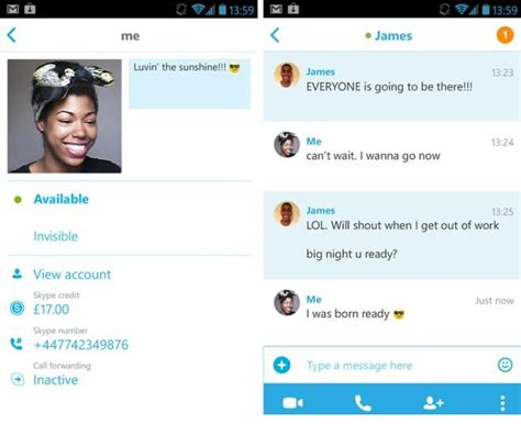 skype free for android skype for android received a major update check it out