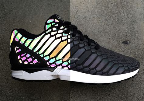 Adidas Zx Flux Reflection adidas originals to debut a new reflective material on the zx flux sneakernews