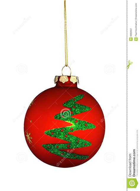 round christmas tree ornament royalty free stock