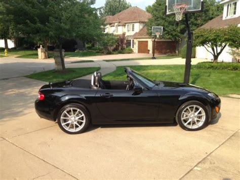 mazda convertible black sell used 2010 mazda mx 5 miata grand touring black