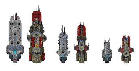 Blueprint Canon Starter Pack image gallery ship sprite