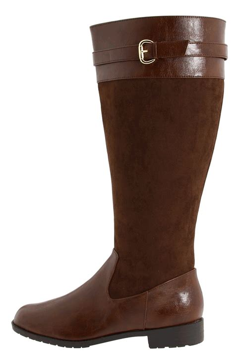 Most Comfortable Wide Calf Boots by Fitzwell Denver Wide Calf Shoe
