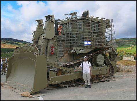 zachi on a d9 me on an idf caterpillar d9 armored