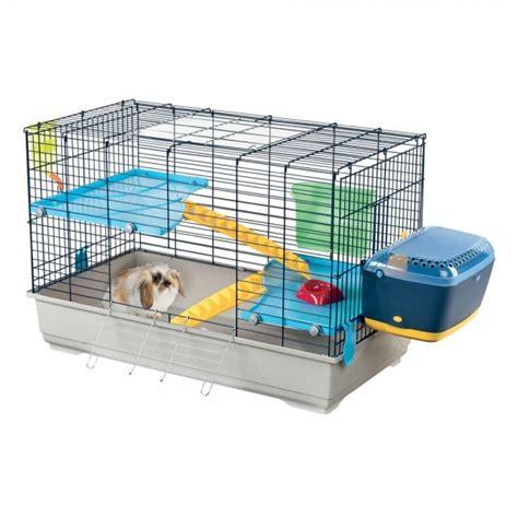 gabbie per conigli da interno imac benny 100 gabbia per conigli