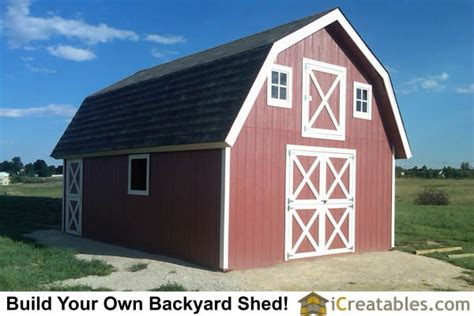 14x16 gambrel shed plans 14x16 barn shed plans icreatables 16x24 shed materials list studio design