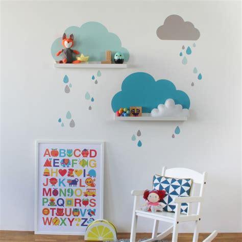 Wandtattoo Kinderzimmer Wolken by Wolken Wandtattoo F 252 R Ikea Bilderleiste Mint