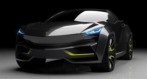 Lamborghini X by What If Lamborghini Made A Tesla Model X Rival