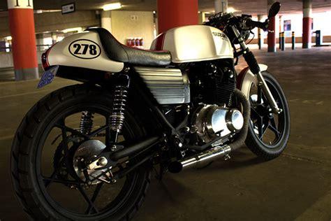 Suzuki Racer 450 Suzuki Cafe Racer Built By V Customs