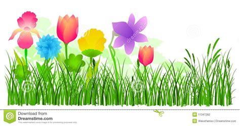 Flower Garden Drawings Flower Garden Clipart
