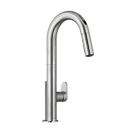 american kitchens faucet american standard beale single handle pull sprayer