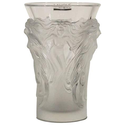 vaso lalique vaso in cristallo lalique oggettistica modernariato