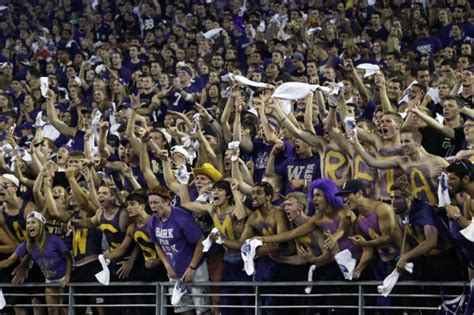 husky stadium student section uw announces idaho state kickoff time for sept 21 husky