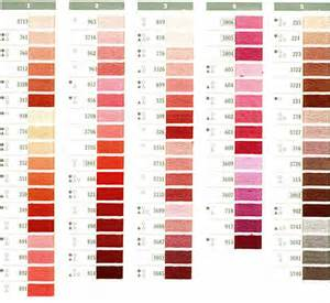dmc thread color chart dmc thread color chart brown hairs
