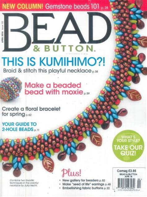 button magazine bead and button magazine subscription