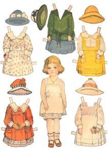 paper dolls and paper doll dresses printable from kid fun