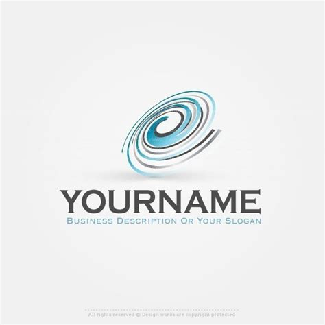 create your business spiral logo template online