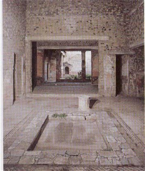 house of the tragic poet floor plan atrium