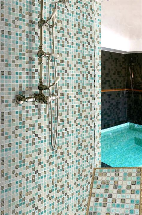 wholesale porcelain tile mosaic square shower tiles kitchen backsplash wall sticker bathroom