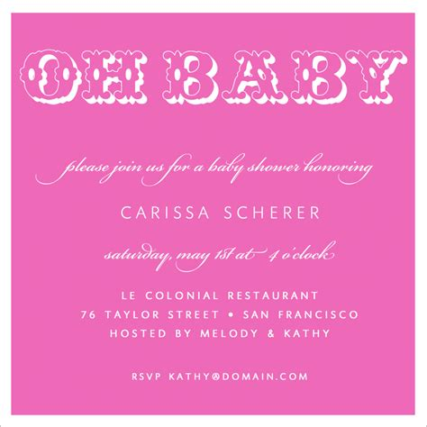 Baby Shower Invitation Card Wording by Baby Shower Invitation Wording For A Theruntime