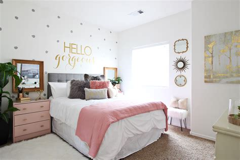images of small bedroom makeovers surprise teen girl s bedroom makeover classy clutter