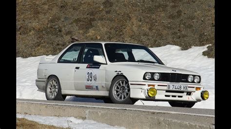 bmw rally 2014 andorra winter rally 2014 bmw m3 e30 colla verglas ordino