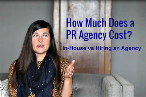 much and house pr how much does a pr firm cost pros cons of in house pr vs hiring an agency