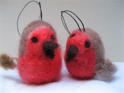 needle felting christmas decorations workshop