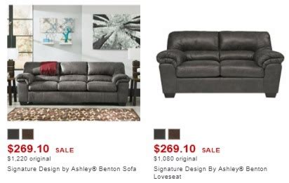 signature design by benton sofa signature design by sofa great durablend leather