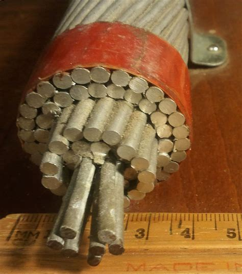 Conductor Cross Section by Aluminium Conductor Steel Reinforced Cable
