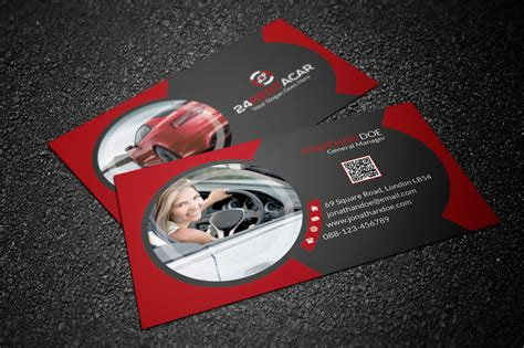 Free Automotive Card Template by Automotive Business Cards Business Card Tips