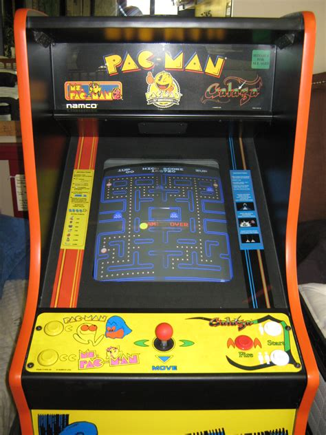 full size arcade cabinet photos ms pacman full screen play best games resource