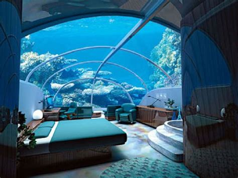Bedroom Water by Dubai Hotel Rooms Dubai Underwater Hotel Room Photos