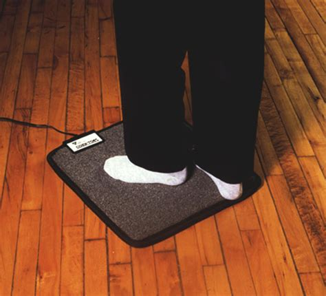 heated floor pad desk foot warmer mat for under your desk