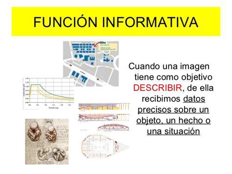 imagenes funcion informativa funci 243 n de las im 225 genes