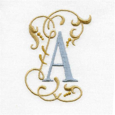 Victorian Scroll Alphabet   Internet Embroidery Club